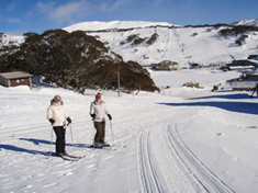 Road to Perisher from Barina Lodge